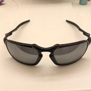 Authentic Oakley Badman Polarized Sunglasses